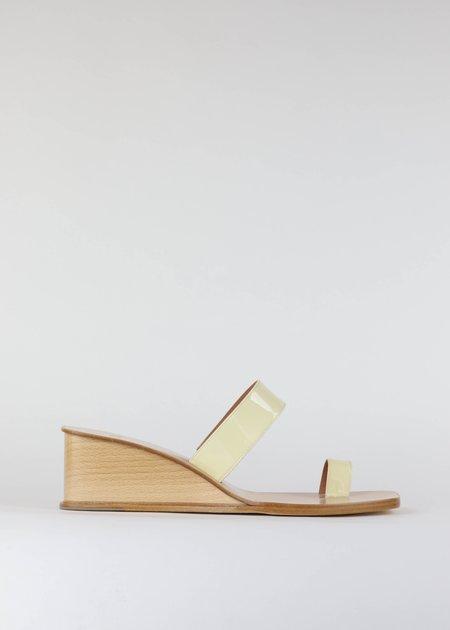 LOQ Cadiz wedge sandal - White