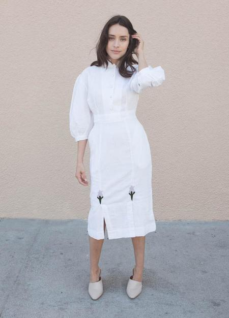 HKM Connie Dress - White