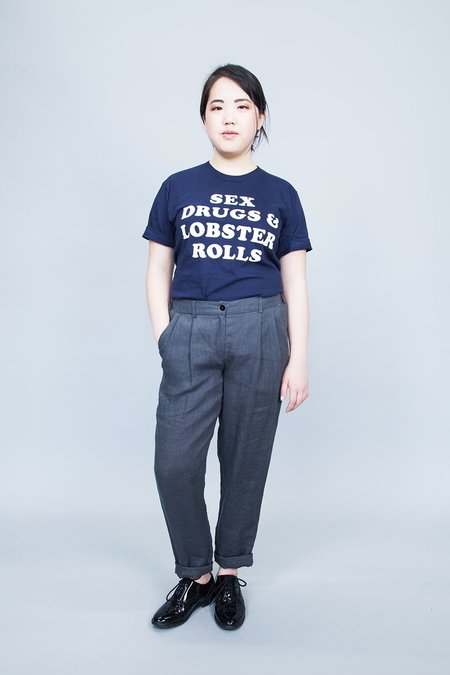 Ode to Sunday Clothing Hanna Pants - Charcoal