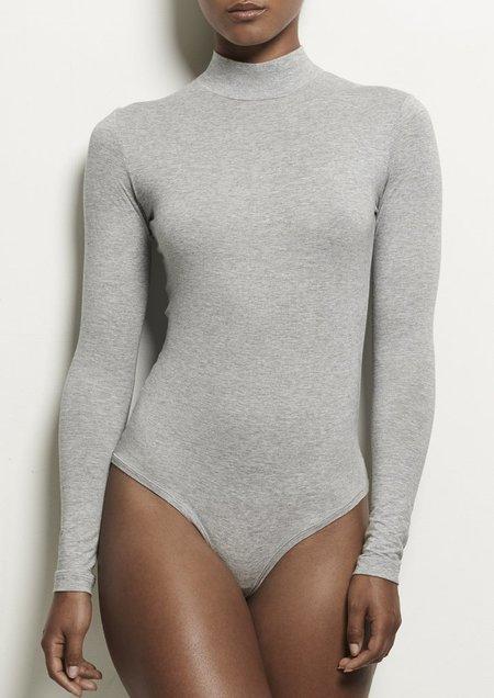 Woron Sexy & Slim Bodysuit - Grey Melange