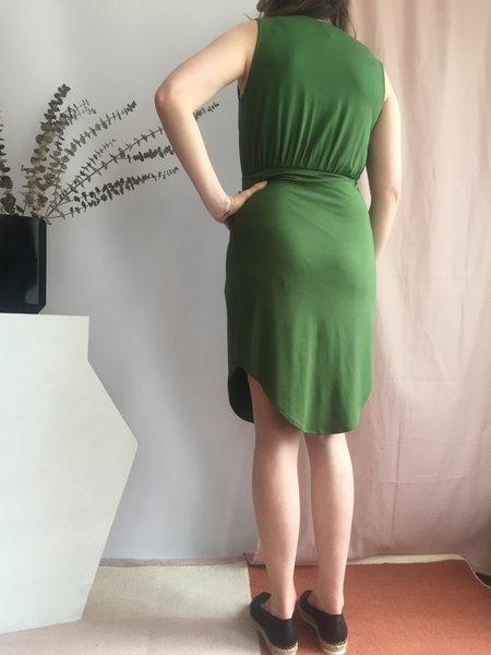 Eve Gravel Wildflower Dress - Vert