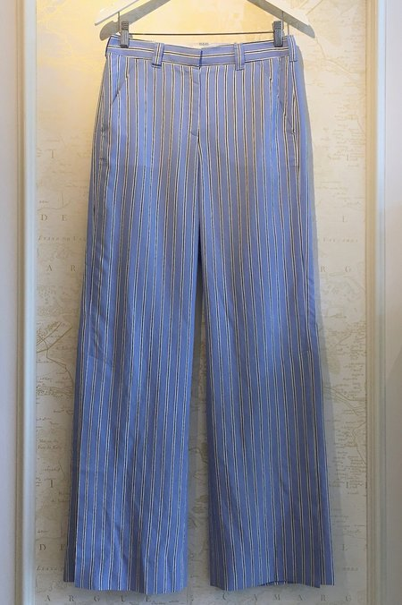 A.L.C. Striped Silk Miles Pant