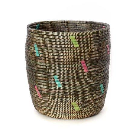 Swahili Modern Rainbow Confetti Planter