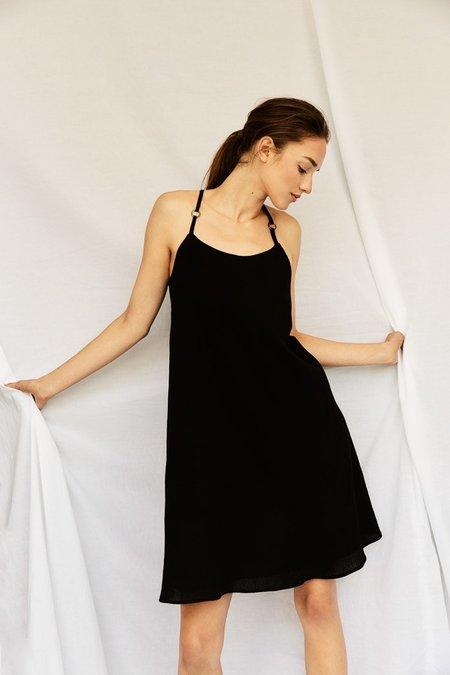 Devlyn Van Loon Slip Dress - Black