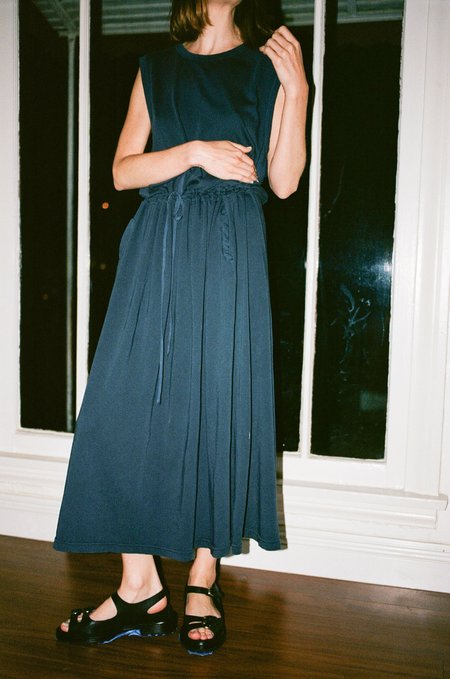 Hansel From Basel Alicia Dress - Washed Navy