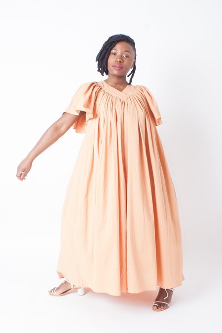 Colorant Tamiru Dress (Petite) - Goldenrod