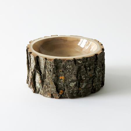 Loyal Loot Log Bowl - Natural/Clear