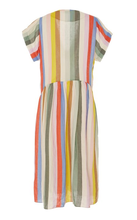 WHiT Catalina Dress - Rainbow Stripe
