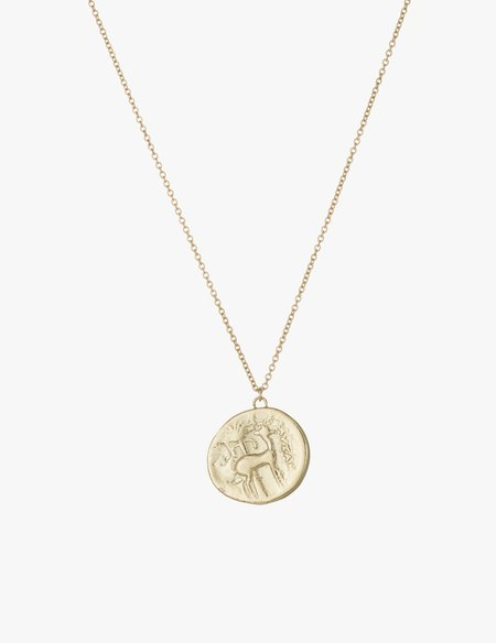 Kathryn Bentley Bee Coin Pendant