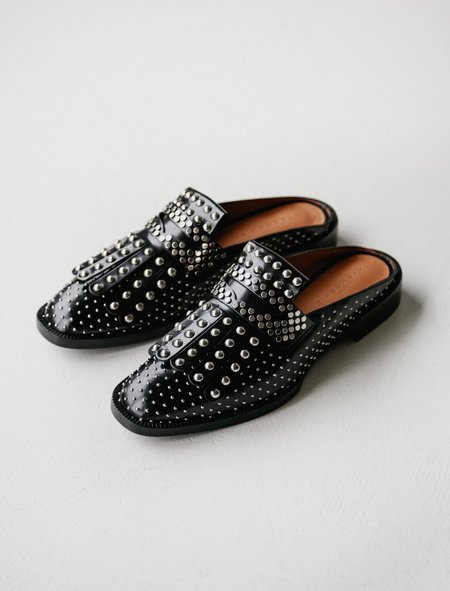 Robert Clergerie Youla Studded Slide