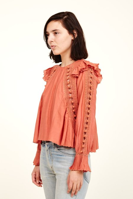 Sea New York Esther Top - SALMON