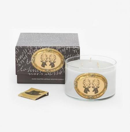 Patch NYC 17 oz. Triple Wick Candle - Stag