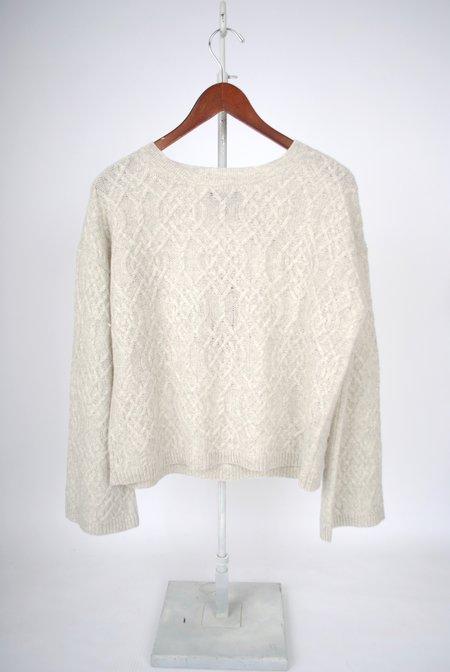 Nili Lotan Quay Sweater - LIGHT GREY MELANGE