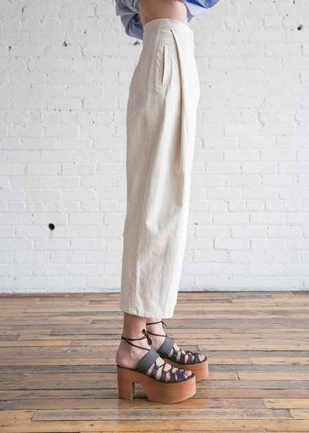 Rachel Comey Denim Don Pants - Dirty White