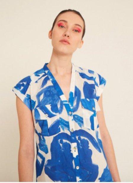 Heinui Ivy Shirt - Koi Print
