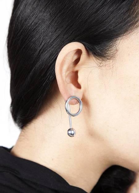 Faux/Real Friends Earrings - All Silver