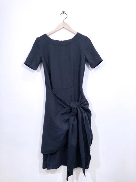 Atelier Delphine Lake Dress - Darkest Navy
