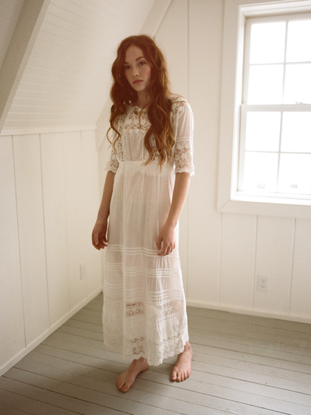Shop Boswell Vintage Edwardian Lace Dress