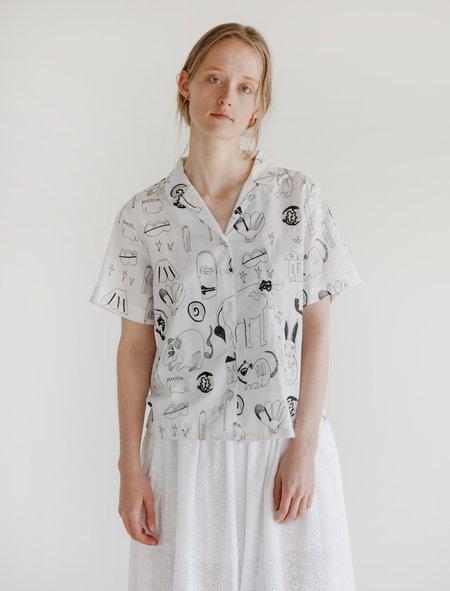 Shrimps Carina Embroidered Shirt