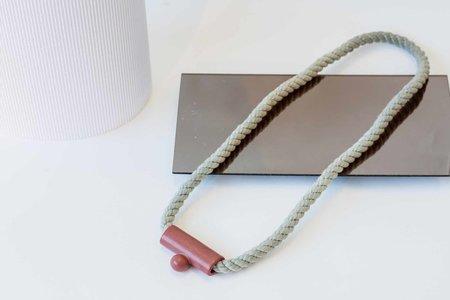 YYY Drop Necklace - Rust