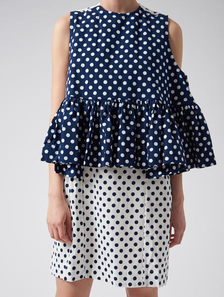 Peter Jensen Polka Dot Summer Dress