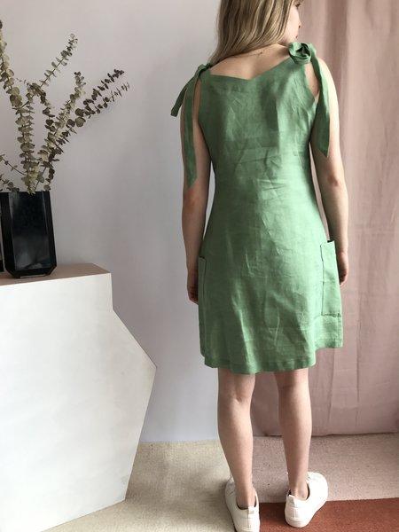 Noémiah Virginie Dress - Vert