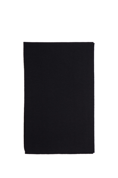 Hunting Ensemble Fine Merino Scarf - Black