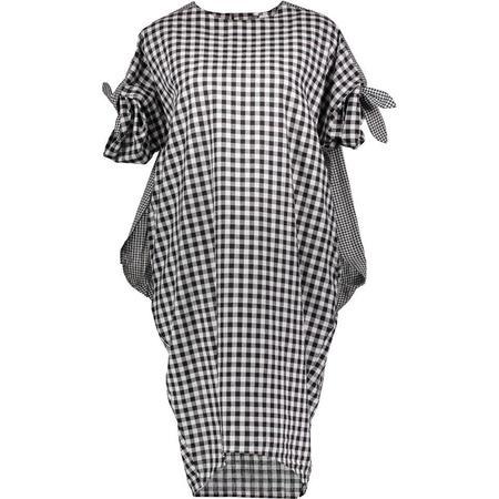 Project 6 Kenji Dress - Black/White Check