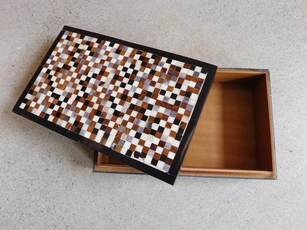 Shiraleah Mosaic Trinket Box