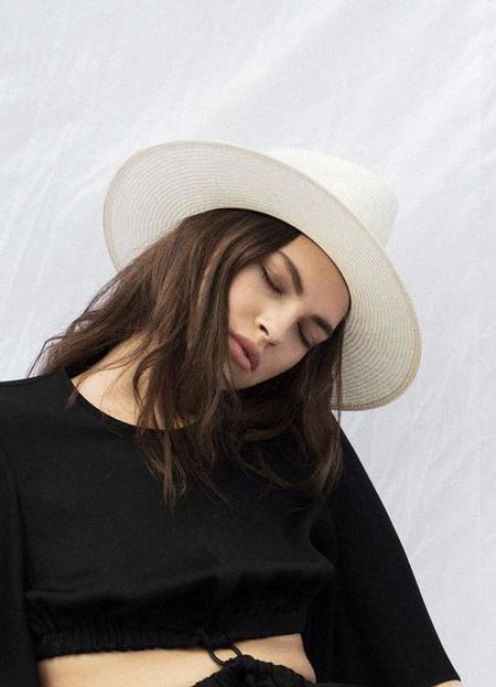 Janessa Leone Alexander Hat - Natural