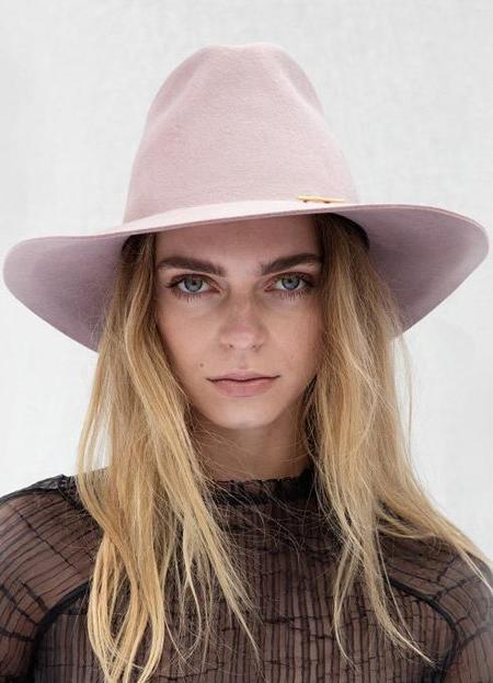 Janessa Leone Hannah Hat - QUARTZ