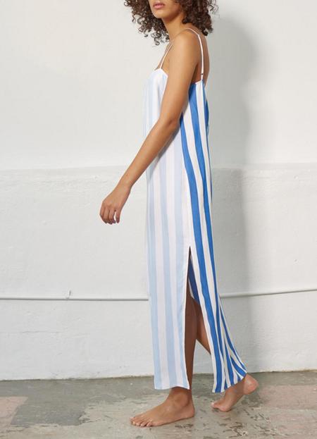 Mara Hoffman Sena Dress - Denim Multi