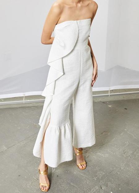 Rachel Comey Revel Jumpsuit - White