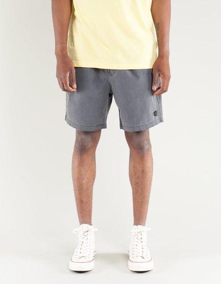 Deus Sandbar Solid Garment Dye Short - Black