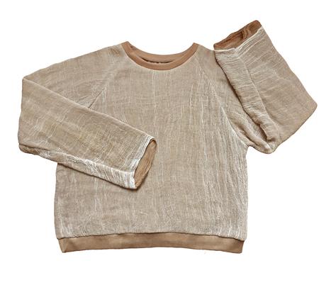 Unisex Halo Labels GAUZE sweatshirt - BEIGE