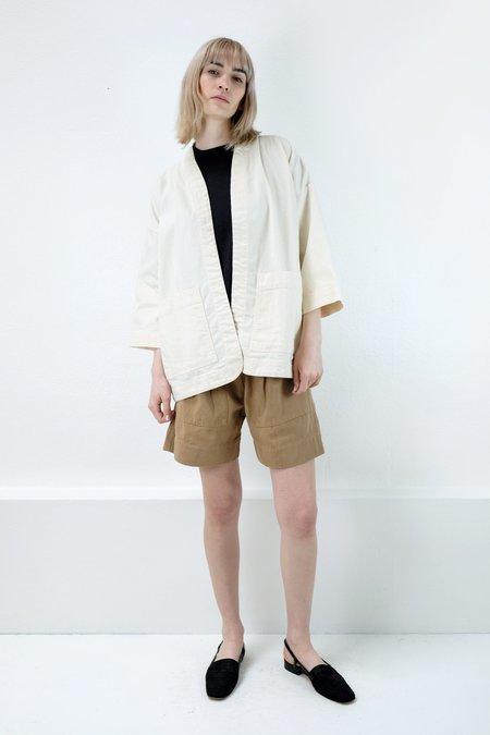 Micaela Greg Cream Sac Jacket