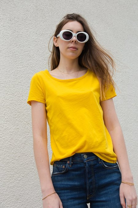 Des Petits Hauts Jival Tee Shirt - Jaune