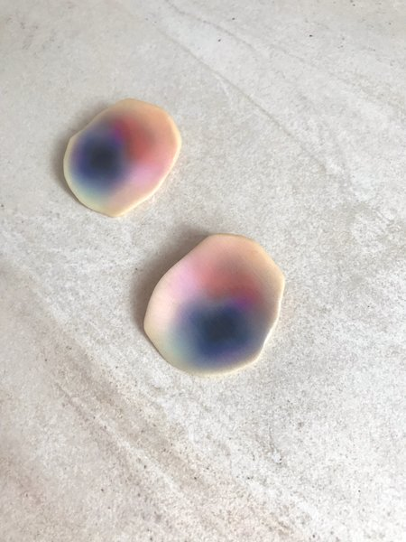 Julie Thevenot Small Puddle Earrings - Multicolor