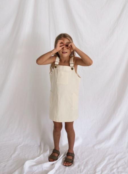 Kids Yoli & Otis Maja Dress - Nutmilk