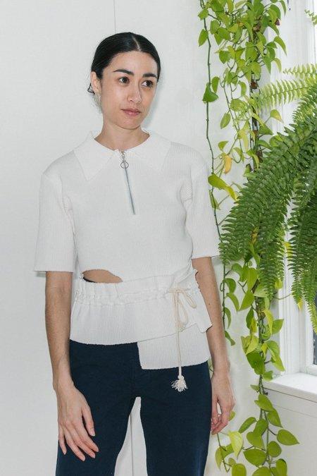Desiree Klein Lori Top - White