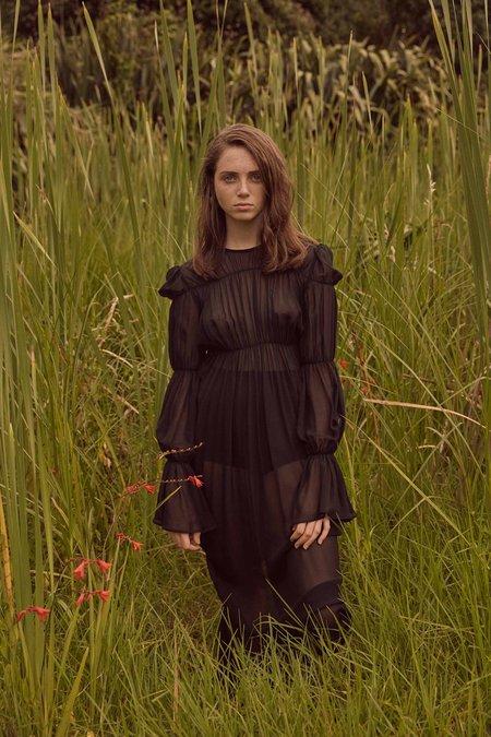 Ovna Ovich Ohira Dress - Onyx