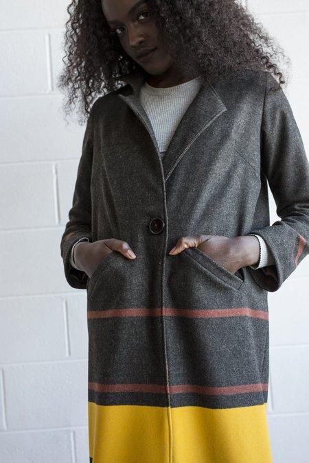 Lois Hazel Transverse Coat