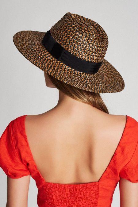 Brixton Joanna Hat  - Noir/Brun