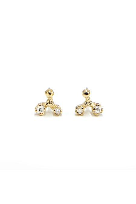 n + a Diamond Jack Earrings