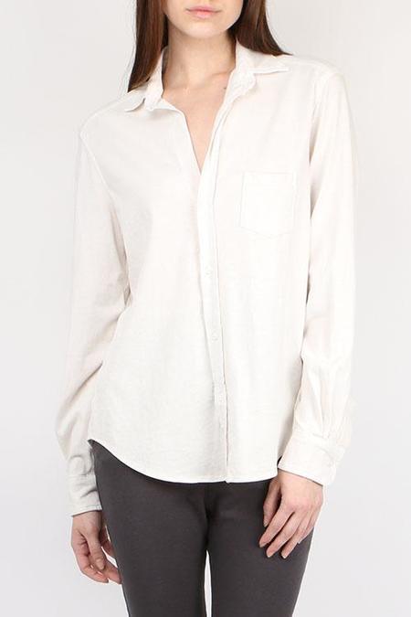 Tee Lab Button Down Shirt - Vintage White