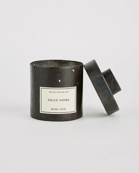 Mad et Len Figue Noire Candle - Black