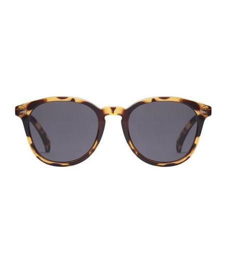 Unisex Le Specs Bandwagon Sunglasses - Syrup Tort