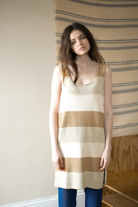 Colorant Ava Hand-Knit Dress - Colorgrown Cotton