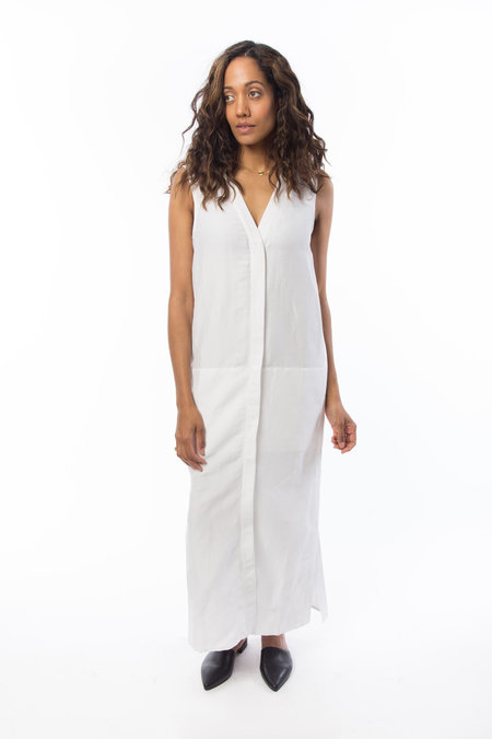 Emerson Fry Linen Meta Vest - White