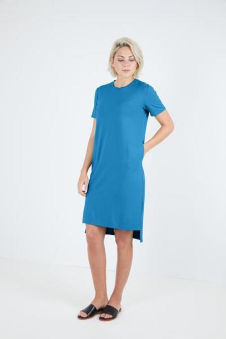 Sarah Liller Felicity Tee Dress - BLUE